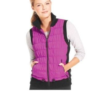 Calvin Klein small woman's quilted puffer vest